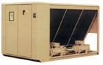 Чиллер с воздушным охлаждением конденсатора для наружной установки